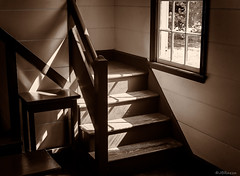 Stairway Light (JBRazza Photography) Tags: echota cherokee georgia historical buildings indian native american trailoftears cabin wagon abandoned america antique autumn blue building cabins country design fall field fireplace foliage forest grass green historic history home house huts interior landscape life lifestyle log mountains national nature old outdoor park revolutionary roof rural rustic scenic sky stone tourism traditional vintage war window wood wooden yellow razza jbrazza johnrazza