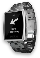 Where To? Pebble Companion App