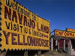Navajo Land (RiverBearPhoto) Tags: road arizona us photo highway post mother az jackson 66 historic route leon trading yellowhorse riverbear