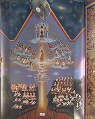 Wat Khao Rang Ubosot Interior Paintings (DTHP0581) วัดเขารัง ภาพวาดตกแต่งภายใน อุโบสถ