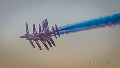 The Red Arrows (zund) Tags: aircraft jet airshow southport redarrows raf merseyside