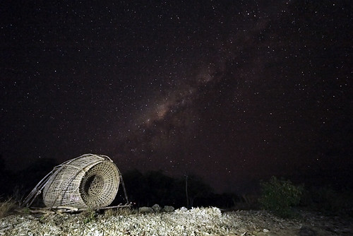Milkyway {Over the Kepa island's sky
