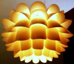 Mid-century modern design (N@ncyN@nce) Tags: lighting orange lamp fashion vintage design modernart 1950s 1960s camelot swag midcentury eamesera modmen