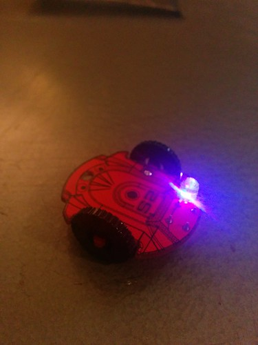 Parallax S2 robot badge completed kit