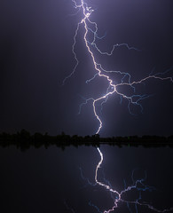 Dance of the electrons (Bill Bowman) Tags: lightning cootlake eveningthunderstorm