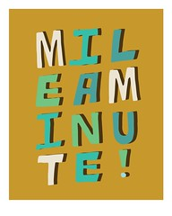 Mile a Minute (jacobfrancis) Tags: typography design graphicdesign sketch technology font type lettering stress handlettering timeenjoy coffeehandlettering