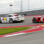No_ 912 Porsche 911 RSR fighting GTLM battle