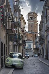 Via Bruno, Foggia (Kevin Pacheco) Tags: street city houses tower car italia torre case via coche later torri citt calzada pi foggia tardi
