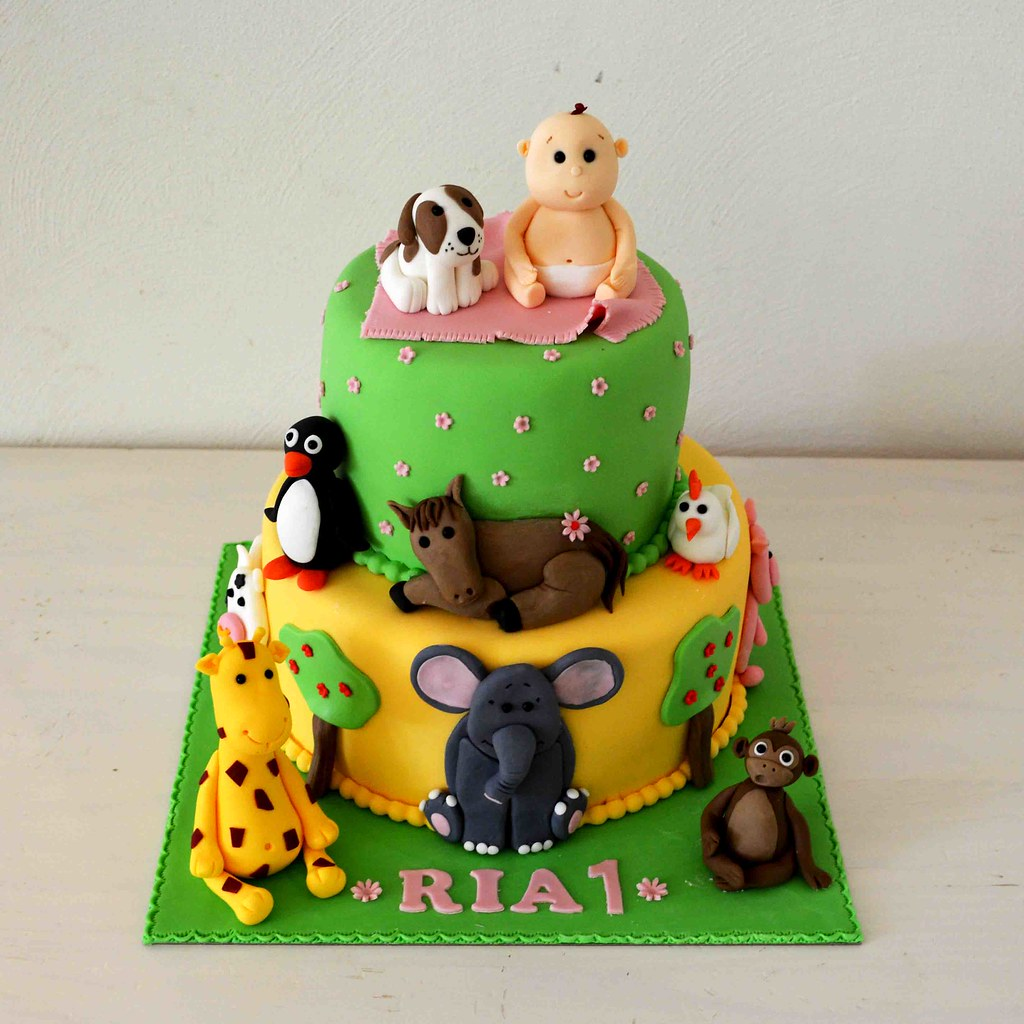 Nursery Rhyme Cake Misscloudberry Tags Birthday Party Horse Dog Baby Elephant Amsterdam Animals