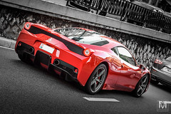 Ferrari 458 Speciale (*AM*Photography) Tags: auto red car italian nikon automobile fast ferrari montecarlo monaco exotic spotted supercar v8 speciale 458 d3200 worldcar worldcars