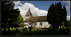 CHURCH OF ST. MARY. WEST HORSLEY. 2 (adriangeephotography) Tags: church cemetery grave photography memorial cross headstone tomb surrey spire adrian gee adriangeephotography
