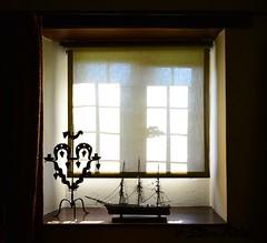 Window (Steve Fitch) Tags: light window ship shadows ornament windowsill windowblind nikonflickraward