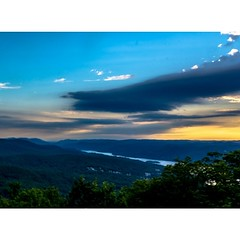 Shot from the top Bear Mountain... (thatbenhaller) Tags: sunset mountain ny newyork bearmountain harriman latergram uploaded:by=flickstagram rsalandscape retropman instagram:photo=789761852630304566571993008