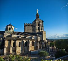 0437 - Europatour 2014 - Frankreich - Avignon (uwebrodrecht) Tags: france castle frankreich europa schloss avignon palast uwe papst brrodrecht