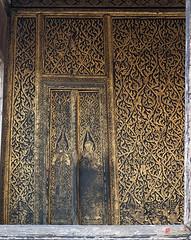 "Wat Tsai ""Golden Palace"" Interior (DTHB0837) วัดไทร ด้านใน พระตำหนักทองด้วยก"