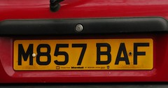 M857 BAF (2) (Nivek.Old.Gold) Tags: 1994 rover metro 14 si auto 5door marshall bedford