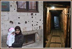 """Sarajevo, i ricordi della guerra 1992-1995: una famiglia in visita al """"Tunnel della speranza"""" (Valerio_D) Tags: tunelspasa sarajevo bosna bosnia bih bosnaihercegovina bosniaeerzegovina bosniaandherzegovina collage tunnelofhope tunnelofrescue"""