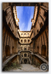 Neemrana Stepwell / Baori! (KS Photography!) Tags: panorama panoramic ranikibaoli ranikibaori ineemrana stepwell rajasthan village ancient attractive historic baori brick building culture day daylight destination architecture historicarchitecture famous heritage historical landmark monument pattern religion ruin stairs step stepwall structure ponds water tourism tourist traditional iconic abstract architectural bricks design old queensstepwell prespective india asia photography photoborder kreative kreativeart kreatives travel travelphotography architecturalheritage architectureandbuilding architecturalpurity nikon nikondigital tokina1116mmf28 tokina