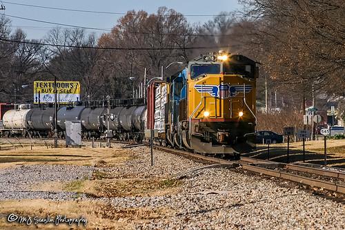 UP 4178 | EMD SD70M | NS Memphis District