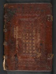 Binding of Georgius Bruxellensis: Cursus quaestionum super totam logicam (University of Glasgow Library) Tags: super binding cursus totam georgius bruxellensis logicam quaestionum eg8a18