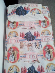 Bens Old Return of the Jedi sheets (tiffanycsteinke) Tags: house home modern century vintage bed bedroom mod 60s retro 70s mid midcenturymodern midcentury mcm