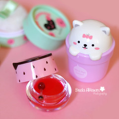 Enjoy the little things in life! (Miss.Dua'a) Tags: pink cats cute beauty face shop strawberry pastel makeup things korean quotes kawaii lip products cosmetics balm brands blusher handcream darke        thefaceshop