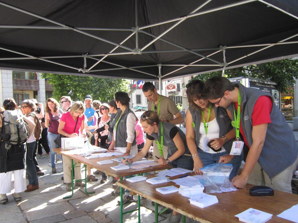 Les Rencontres littéraires en pays de Savoie Vous viendrez pour les auteurs, vous reviendrez pour le spectacle de la nature. Et inversement.