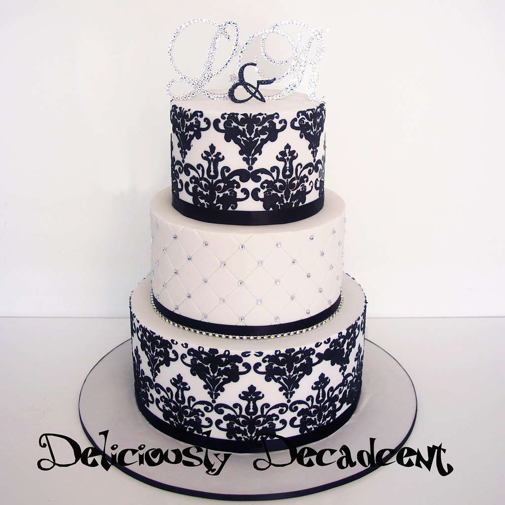 The World\'s Best Photos of cake and damask - Flickr Hive Mind