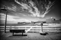 All Prologue (eCHstigma) Tags: ocean california santacruz beach bench sony voigtlander wharf bayarea 15mm heliar superwide voigtlanderheliar15mmf45 sonya7