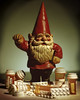 NO CURE for BAD TASTE (Giovanni Savino Photography) Tags: red beard gnome drugs pills cure badtaste kitch distasteful prescriptiondrugs 4x5camera largeformatphotography instantfilm tachihara nocure magneticart ©giovannisavino mithologicalcreature