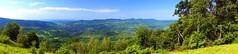 Panorama vaii Argesului de la 1200m