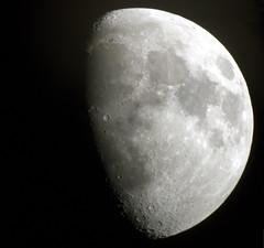 Lluna creixent ( alfanhu) Tags: moon luna telescope gibbous sella creciente