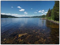 Olympus Lake (Krogen) Tags: nature norway landscape norge natur norwegen noruega scandinavia krogen landskap noorwegen noreg skandinavia hadeland randsfjorden oppland olympusomd