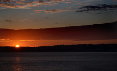 Jersey sunset (Lee1885) Tags: sunset sea sky sun night jersey channelislands