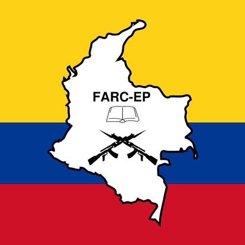 FARC-EP Flag, From FlickrPhotos