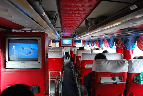 Decor - Chiangmai-Pitsanulok bus
