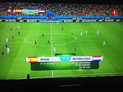 World Cup stunner: Netherlands crushes Spain, 5-1