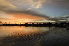 Sunrise in Rio Negro (Amazonia) (Paulo Rezende Photography) Tags: brazil am bra balsa agata saude moura hcamp fotopaulorezende agata4 operacaoagata4
