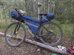 IMG_8436 (vikapproved) Tags: mountain lake mountains bike pass deer dirt warner biking rocket surly spruce porcelain touring lorna hombres krampus 2014 chilcotins rohloff tyax bikepacking
