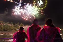Fireworks From the Boat (Niagara Cruises) Tags: cruise ontario canada colour skyline night niagarafalls evening fireworks falls boatride hornblower boattour niagaracruises hornblowerniagaracruises