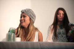 Jessica Lu & Devyn Smith (Gage Skidmore) Tags: california michael jake cole jessica thomas joey kristina smith center gallagher whitney convention anaheim milam lu pierson devyn 2014 storytellers youtube fode vidcon graceffa