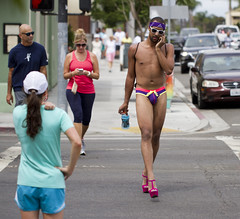 Purple is his color (San Diego Shooter) Tags: gay portrait sandiego streetphotography pride gaypride hillcrest sandiegopride sandiegogayprideparade pride2014 sandiegopride2014 sandiegogayprideparade2014