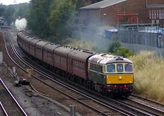 33012 & Royal Wessex railtour (David Blandford photography) Tags: royal hampshire southampton wessex sulzer redbridge 33012 d6515 brcw 71alocomotivegroup