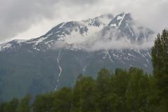Snowcapped Mountain (Steve Schar) Tags: mountain snow mountains alaska nikon haines 2014 chilkatriver chilkatrange nikongp1 nikond7100 haineswildernessriveradventure