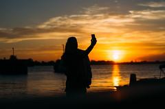 (chloe.sobel) Tags: sunset ontario lakeontario selfie wolfeisland
