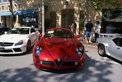 Alfa_Romeo_8C_2008_Competizione_AboveHood_CECF_9April2011 (Valder137) Tags: auto car festival orlando florida celebration exotic romeo alpha 2008 automobiles 8c competezione