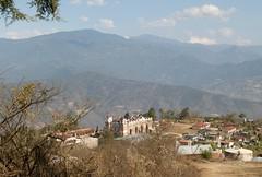 Oaxacan Church Mexico (Ilhuicamina) Tags: mountains mexico churches villages mexican oaxaca towns sierrajuarez zapotec yatzachielbajo