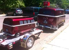 VW Micro-bus & mini-micro-bus (Derek Severson) Tags: bus vw volkswagen van microbus gruvee