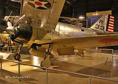 A6M2 Zero IJN Fighter (f4fwildcat...Tom Andrews Photography) Tags: ohio hurricane transportation dayton airpower b18 b36 p47 f4fwildcat wrightpattersonafb p61 usairforcemuseum a6m2zero tomandrewsphotography