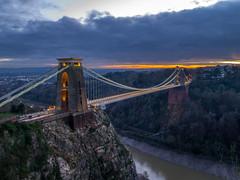 clifton suspension bridge bristol england sun set (Wizard CG) Tags: bridge sunset england sun set bristol amazing suspension ngc valley avon clifton